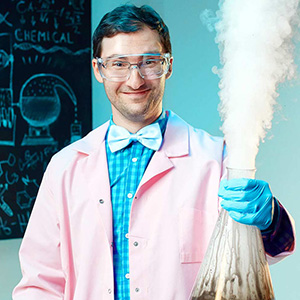 Yavor Denchev in the advertisement of Superhosting.bg